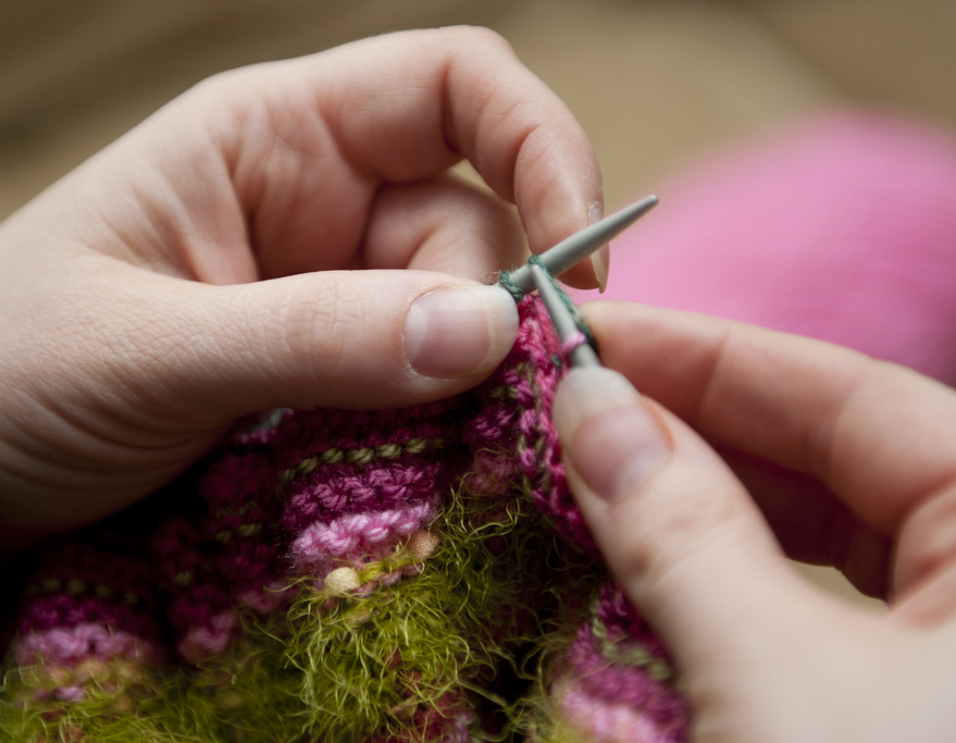 Knitting Meaning : Be the boss of your knitting monhegan wellness