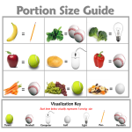 portions veggies